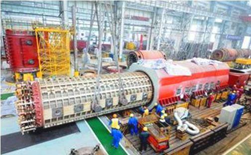 东方电气火力发电主机单机功率最大至1000MW等级