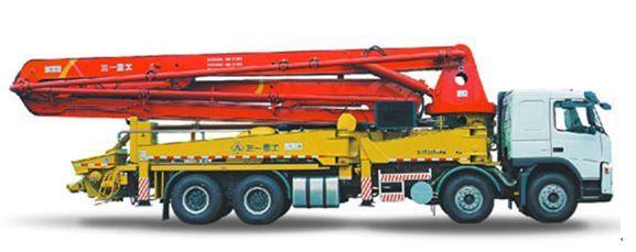 三一重工泵车—迪拜—世界第一高楼工程