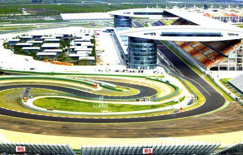上海F1国际赛车场