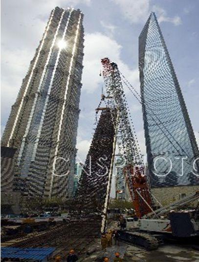 上海中心大厦工程